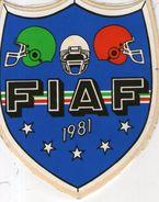 B 1270 - Sport, Federazione Italiana American Football - Stickers