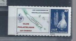 """NLLE-CALEDONIE  :  Y&T**  N° 1087a """" Cagou """" - Parrots"""