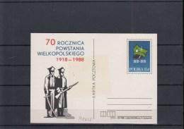 Polen Postal Stationary Michel Cat.No. P1028 Unused - Stamped Stationery