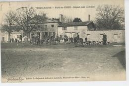 SPORTS - Chasse à Courre - TERRE NEUVE - Forêt De CHIZÉ - Départ Pour La Chasse - Jacht