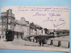 AISNE  02     CHATEAU -THIERRY    -  TRAMWAY  -   QUAI DE LA POTERNE    ANIME   TTB - Chateau Thierry