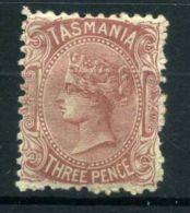 TASMANIE (  POSTE ) : Y&T N°  40  TIMBRE  NEUF  AVEC  TRACE  DE  CHARNIIERE  , A  VOIR . - 1853-1912 Tasmania