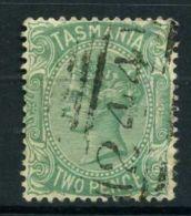TASMANIE (  POSTE ) : Y&T N°  29  TIMBRE  BIEN  OBLITERE  , A  VOIR . - 1853-1912 Tasmania
