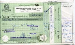 23164 Italia,  Postal Money Order  Of 1961, Vaglia Postale Emesso Nel 1961, Da Correntista - 6. 1946-.. Repubblica
