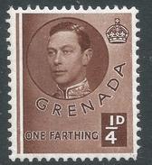 Grenada. 1937-50 KGVI. ¼d MH. SG 152 - Grenada (...-1974)