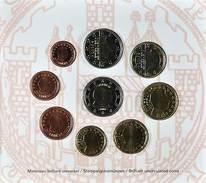 42513) Luxemburg Euro - KMS 2006, Von 1 Cent Bis 2 Euro, Im Folder, St. - Luxemburg