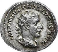 44306) Philippus I. Arabs. 244-249, Antoninian, SALVS AVG, RIC 47, Vz - 9. Sonstige
