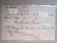 ENTIER POSTAL  PORTUGAL 1896 - Entiers Postaux