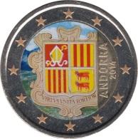Andorra 2014 2 ? Euros ( No Conmemorativa )   Escudo De Andorra Color - Coins