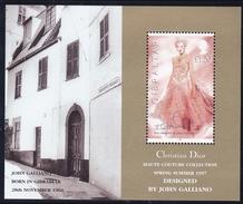 Gibraltar, 1997, 807 Block 30,  Haute Couture. MNH **, - Gibraltar