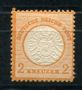 6068 - DEUTSCHES REICH - Mi.Nr. 24 Mit Falz, Gepr. Und Befund HENNIES / Mint But Hinged, Certified - Deutschland