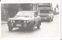 Photo - Rallye - Auto à Identifier  - Voiture  - Sport - Automobiles