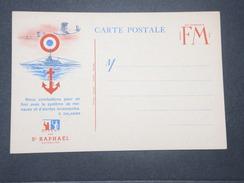 FRANCE - Carte FM Patriotique , Texte De Daladier , Offert Par St Raphaël - L 9441 - Cartes De Franchise Militaire