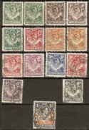 Northern Rhodesia 1938 Values To 1/-d Fine Used - Südrhodesien (...-1964)