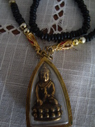 COLLIER   Divinité Indoue Bouddha - Ethniques
