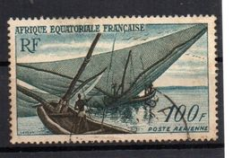 Sello Nº A-59 Africa Equatorial Francesa. - Usados