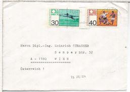 ALEMANIA BIELEFELD CC SELLO COPA DEL MUNDO DE FUTBOL 1974 FOOTBALL - Copa Mundial