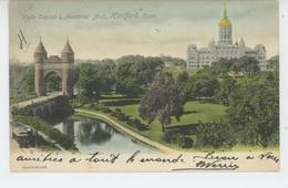 U.S.A. - CONNECTICUT - HARTFORD - State Capitol & Memorial Arch - Hartford
