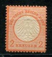 6089 - DEUTSCHES REICH - Mi.Nr. 8 Mit Falz, Gepr. Und Befund Hennies / Mint But Hinged, Certified - Neufs
