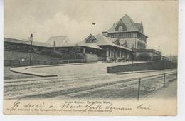 U.S.A. - MASSACHUSETTS - SPRINGFIELD - Union Station - Springfield
