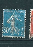 N° 192   Semeuse Fond Plein 30cts 1924 Timbre  France Oblitéré - France
