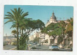 Cp , Automobiles , CITROEN DS , PEUGEOT 404 , 403 , Vw Coccinelle... ,06 , NICE , Hôtel Ruhl , Voyagée 1963 - Turismo