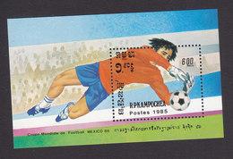 Cambodia, Scott #559, Mint Hinged, Soccer, Issued 1985 - Cambodia