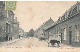 BELGIQUE )) WARNETON   Rue De La Gare - Bélgica