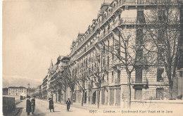 SUISSE )) GENEVE   Boulevard Karl Vogt Et Le Jura - GE Geneva