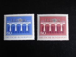 "Allemagne - Europa 1984 ""Pont De Coopération"" - Y.T. 1042/1043 - Neuf (**) Mint (MNH) - Europa-CEPT"
