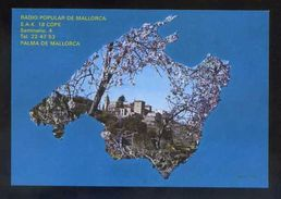 Tarjeta *Radio Popular De Mallorca..* Ver Dorso. - Radio Amateur