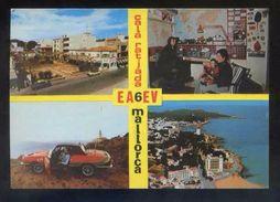 Tarjeta Postal *Radioaficionado* *EA-6-EV. Cala Ratjada, Mallorca..* Ver Dorso. - Radio Amateur