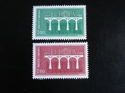 "Andorre (France) - Europa 1984 ""Pont De Coopération"" - Y.T. 329/330 - Neuf (**) Mint (MNH) - Europa-CEPT"