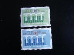 "Chypre (Grèce) - Europa 1984 ""Pont De Coopération"" - Y.T. 606/607 - Neuf (**) Mint (MNH) - Europa-CEPT"