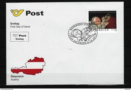 ÖSTERREICH - FDC Mi-Nr. 3027 Alte Meister - FDC