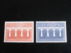 """Espagne - Europa 1984 """"Pont De Coopération"""" - Y.T. 2367/2368 - Neuf (**) Mint (MNH) - Europa-CEPT"""