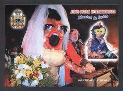 Tarjeta *Radioaficionado* *QSL Especial Carnaval Antroxu..* Lote 7 Diferentes. Ver Dorsos. - Radio Amateur