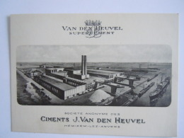 Hemixem-Les-Anvers Van Den Heuvel Supercement Ciments Fabrique Fabriek - Hemiksem