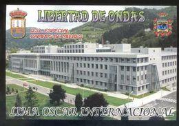 Tarjeta *Radioaficionado* *QSL Especial Campus De Mieres...* Meds: 100x150 Mms. Ver Dorso. - Radio Amateur