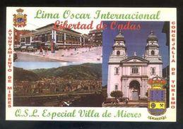 Tarjeta *Radioaficionado* *QSL Especial Villa De Mieres...* Meds: 100 X 150 Mms. Ver Dorso. - Radio Amateur