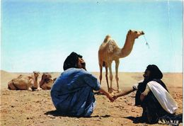 24787. Postal SAHARA Español. Mercado De Camellos - Western Sahara