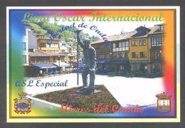 Tarjeta *Radioaficionado* *QSL Especial Mieres Del Camín...* Meds: 100 X 150 Mms. Ver Dorso. - Radio Amateur