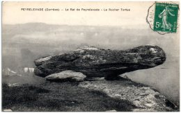 19 PEYRELEVADE - Le Rat De Peyrelevade - Le Rocher Tortue (Recto/Verso) - France