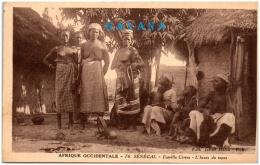 SENEGAL - Famille Cérère - L'heure Du Repos   (Recto/Verso) - Senegal