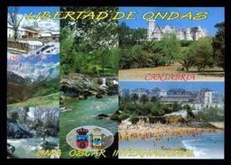 Tarjeta *Radioaficionado* *QSL Especial Cantabria...* Meds: 104 X 147 Mms. Ver Dorso. - Radio Amateur
