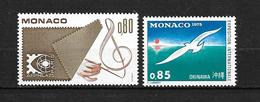 MONACO  1975    N° 1012 / 1013    NEUFS - Monaco