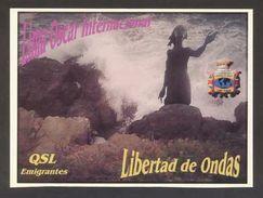 Tarjeta *Radioaficionado* *QSL Especial Emigrantes...* Ver Dorso. - Radio Amateur