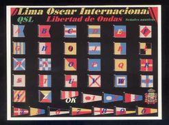 Tarjeta *Radioaficionado* *QSL Especial Señales Nauticas...* Ver Dorso. - Radio Amateur