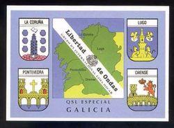 Tarjeta *Radioaficionado* *QSL Especial Galicia...* Ver Dorso. - Radio Amateur