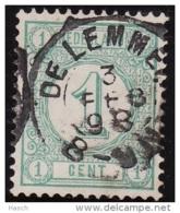 De Lemmer Op Nr 31  Cw Kleinrond Stempel  &euro  5,00 - Periode 1891-1948 (Wilhelmina)